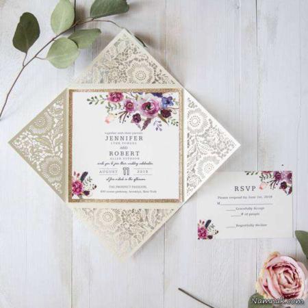 image, جدیدترین ایده ها برای طراحی کارت عروسی