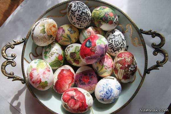 image, جدیدترین ایده ها برای رنگ آمیزی تخم مرغ هفت سین