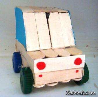 عکس, کاردستی های جالبی که می توان با چوب بستنی ساخت