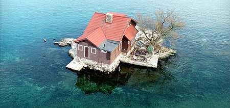 image کوچکترین جزیره دنیا