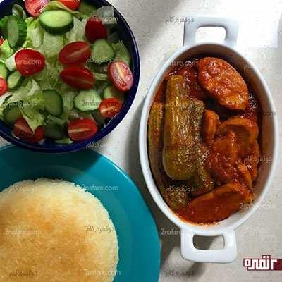 image, آموزش پخت خورشت مخصوص کدو سبز