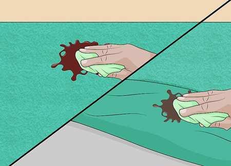 image لکه های شکلات و آب نبات چطور از روی پارچه و لباس پاک کنید