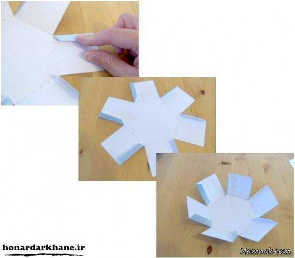 image آموزش تصویری ساخت جعبه شیک برای کادو