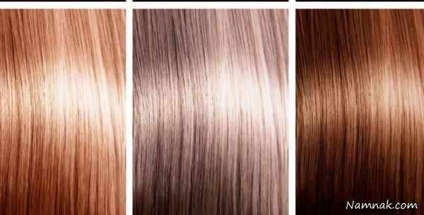 image چطور با رنگ های طبیعی موی خود را رنگ کنید