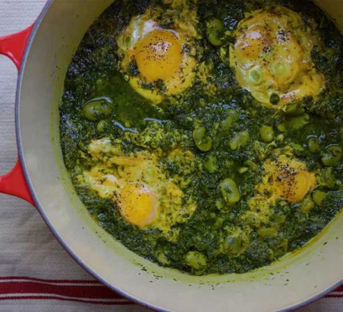 image, آموزش روش پخت اصلی غذای شمالی باقلا قاتق