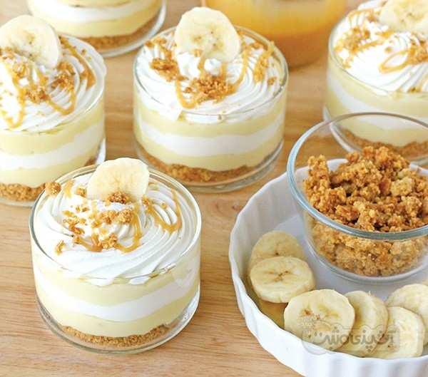 image, آموزش پخت کیک موز خانگی و مقوی