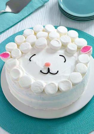 image جدیدترین مدل های شیک کیک تولد کودک