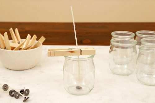 image آموزش عکس به عکس ساخت شمع در خانه