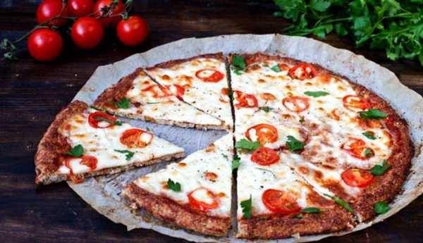 image, آموزش طرز تهیه پیتزا مارگاریتا گیاهی و بدون گوشت