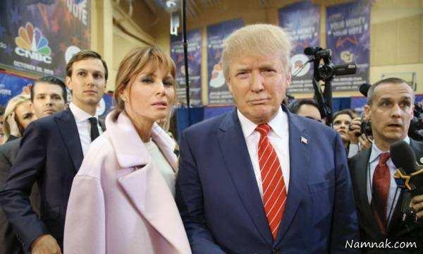 image دونالد ترامپ تا بحال با چند زن ازدواج کرده و عکس آنها
