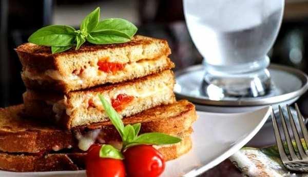image, آموزش تهیه عصرانه خوشمزه ساندویچ سیر