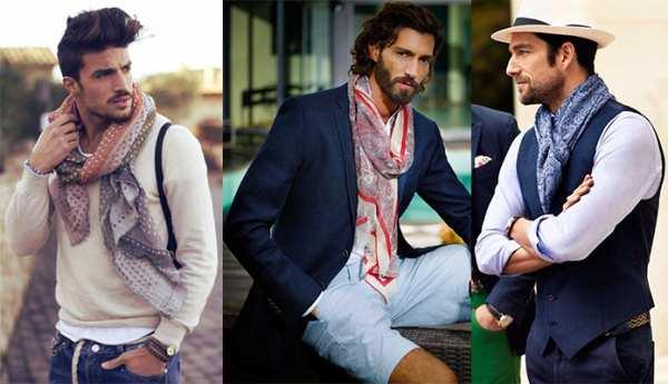image آموزش استفاده از دستمال گردن به جای کراوات مخصوص آقایان