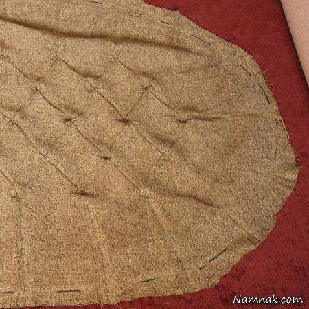 image آموزش عکس به عکس ساخت جلو مبلی چوبی گرد