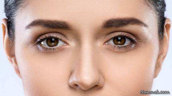 image چطور فقط با آرایش ابروهای خود را طبیعی پهن کنید