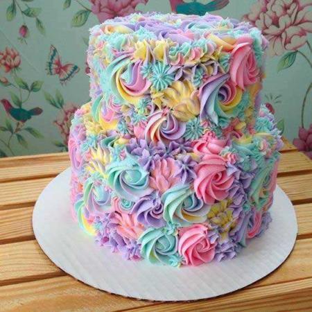 image ایده های جدید تزیین کیک مخصوص قنادی ها