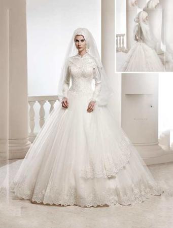 image, خانم های چاق چطور باید لباس عروس مناسب انتخاب کنند