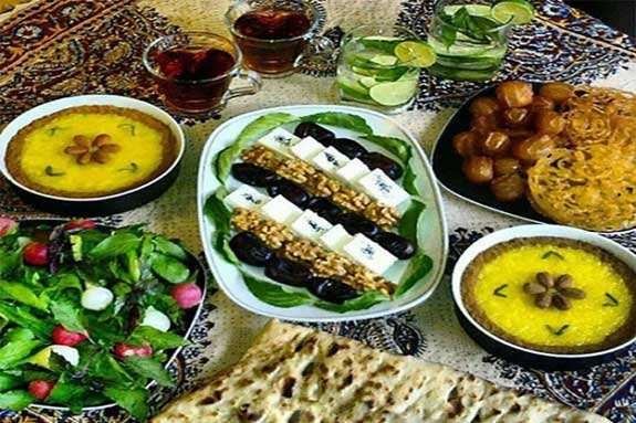 image, چه نکاتی را باید هنگام تغذیه در سحر و افطار رعایت کرد