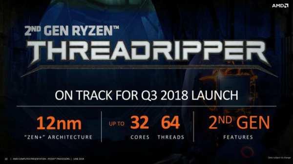 image معرفی نسل دوم پردازنده های AMD Threadripper با سقف ۳۲ هسته