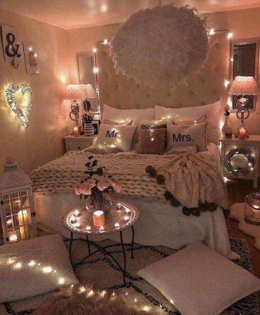 image چطور خیلی شیک اتاق تازه عروس را تزیین کنید