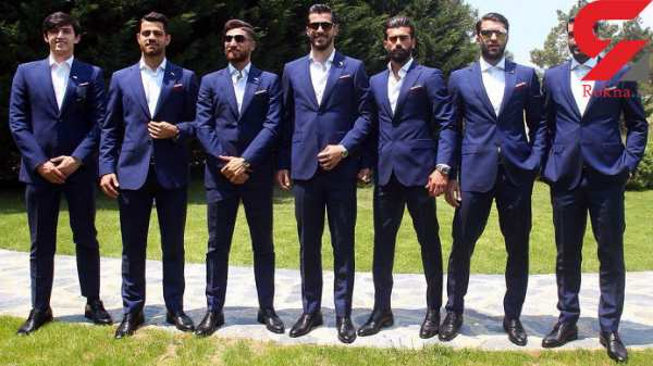image فوتبالیست های ایرانی در روسیه