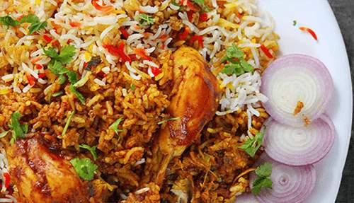 image آموزش پخت مرغ بریانی به سبک هندی ها