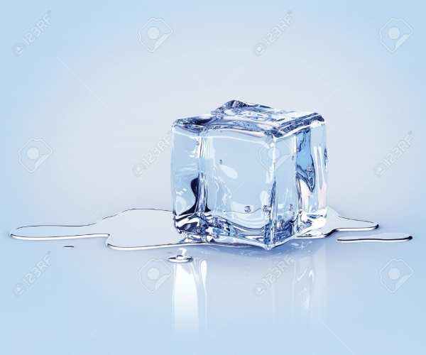 image, چطور با استفاده از یخ معمولی خود را شاداب کنید