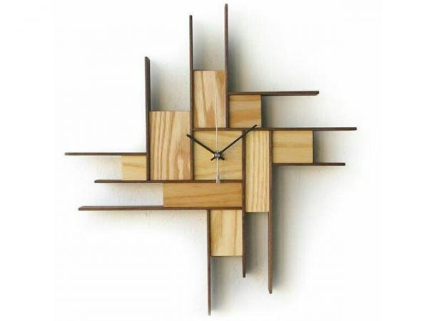عکس, جدیدترین مدل های شیک ساعت دیواری چوبی