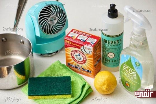 image بهترین راه برای از بین بردن بوی سوختگی غذا در خانه