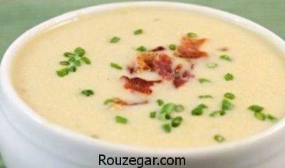 عکس, طرز تهیه سوپ گندم با دستور مخصوص سرآشپز