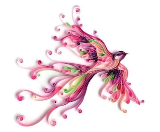 عکس, تصاویر زیبا از طرح های هنری ساخته شده با نوار مقوایی