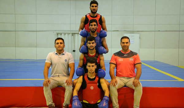 image تصاویر جالب از تمرین تیم ملی ووشو مردان ایران