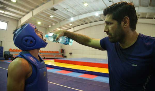عکس, تصاویر جالب از تمرین تیم ملی ووشو مردان ایران