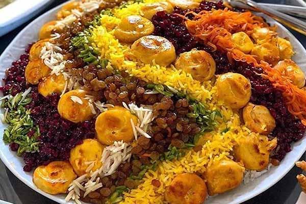 عکس, آموزش پخت مرصع پلو به روش اصلی سنتی شیراز