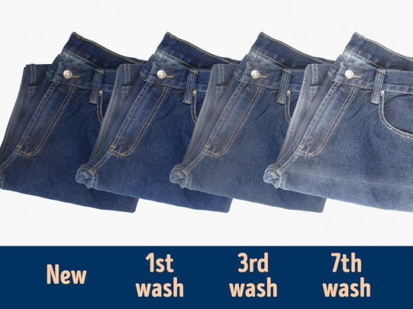 image چطور لباسهای جین را بشویید تا خراب نشوند