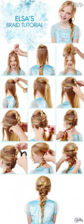 image مدل موهای شیک و جدید برای دختربچه ها
