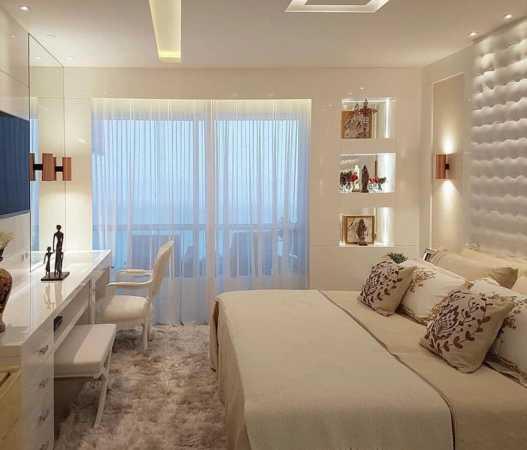 image دکوراسیون فوق العاده زیبا و مدرن اتاق خواب عروس