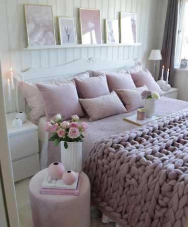 عکس, دکوراسیون فوق العاده زیبا و مدرن اتاق خواب عروس