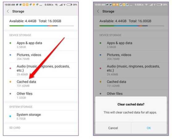 image چطور حافظه گوشی موبایل را از فایلهای اضافی پاک کنید