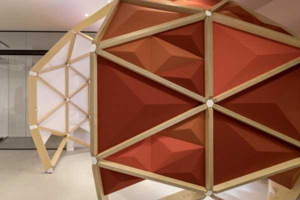 image ایده طراحی فضای کاری اداره با دکوراسیون شیک و مدرن