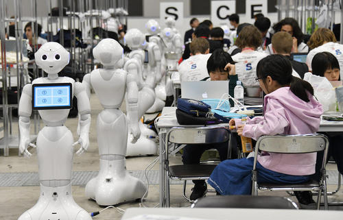 image برگزاری نمایشگاه جهانی روباتها در توکیو