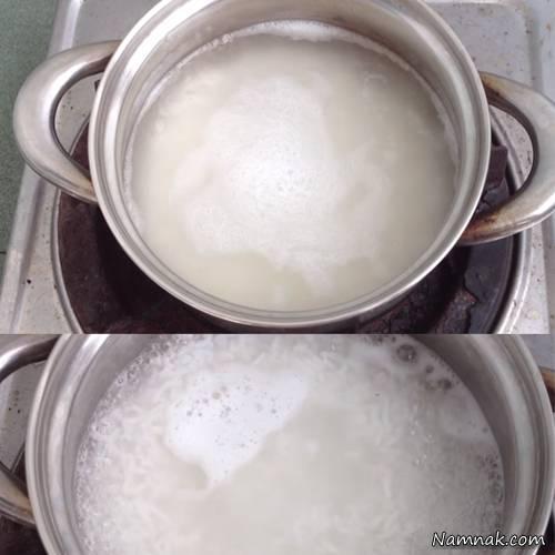 image آموزش تصویری پخت شله زرد حرفه ای مخصوص نذری