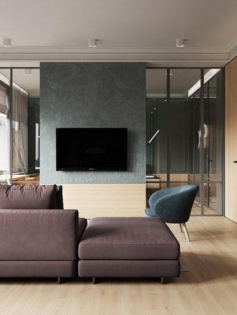 image تصاویر زیبا از طراحی خانه با رنگ ها و وسائل طبیعی