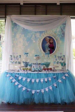 image ایده تزیین جشن تولد دختر بچه با تم پرنسس
