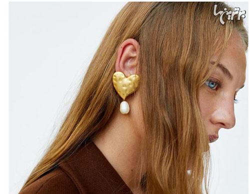 image جدیدترین مدلهای گوشواره طراحی شده مارک زارا