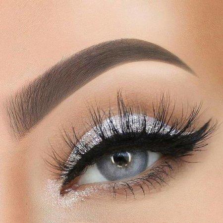 image آموزش آرایش چشم مخصوص فصل زمستان