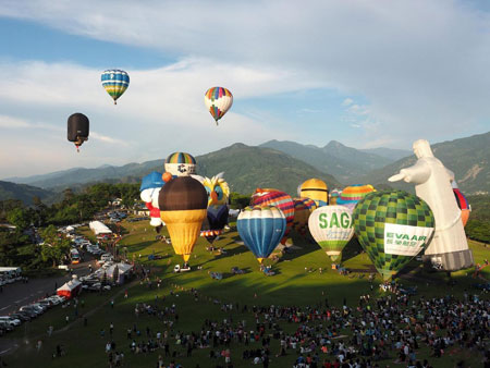 image عکسی زیبا از جشنواره بالن ها در تایوان