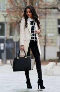image خانم های لاغر چطور لباس شیک و مناسب بپوشند