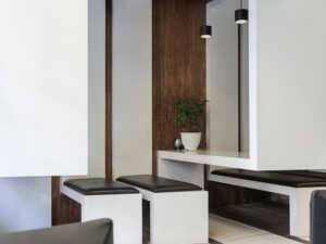 image ایده های جدید برای طراحی فضای کافه شیک و مدرن