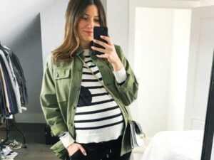 image آموزش شیک لباس پوشیدن برای خانم های باردار