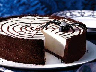 عکس, آموزش پخت کیک خانگی شکلاتی پنیری